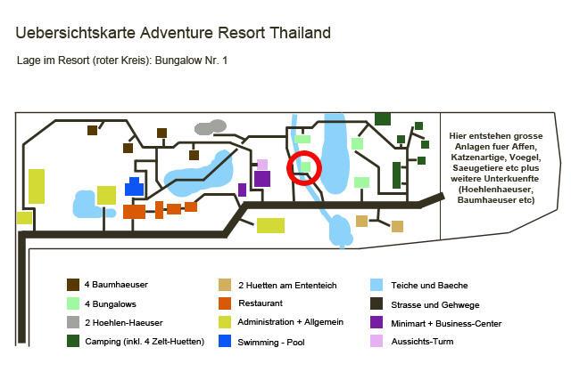 bungalowim1 Lage im Resort